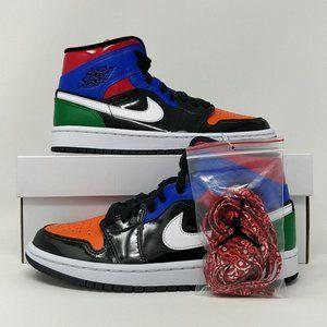 Nike WMNS Air Jordan Retro I 1 Mid SE Multi Patent